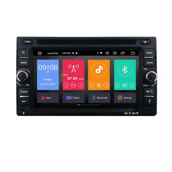 УНИВЕРСАЛНА МУЛТИМЕДИЯ ЗА КОЛА GPS DVD Android 11 + DSP + CarPlay