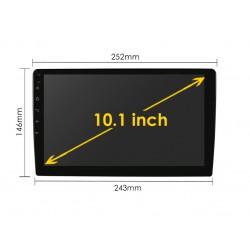 "УНИВЕРСАЛНА 10.1"" МУЛТИМЕДИЯ ЗА КОЛА GPS Android 10 + DSP + CarPlay"