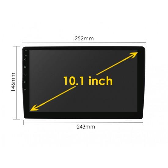 "УНИВЕРСАЛНА 10.1"" МУЛТИМЕДИЯ ЗА КОЛА GPS Android 11 + DSP + CarPlay"