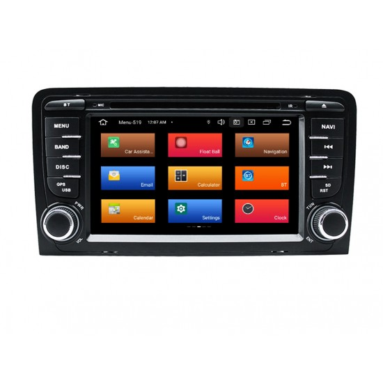AUDI A3 - МУЛТИМЕДИЯ / Навигация Android 11 DVD + DSP + CARPLAY