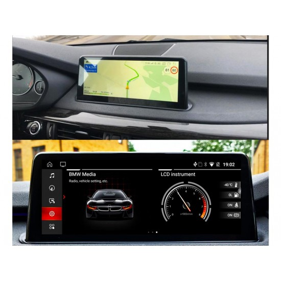 """BMW X5  F15 NBT - 10.25"""" МУЛТИМЕДИЯ / Навигация Android 10"""