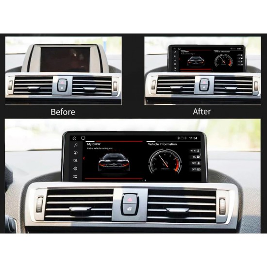 "BMW Серия 1 F20 F21 NBT - 10.25"" МУЛТИМЕДИЯ / Навигация Android 10"