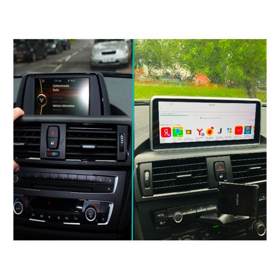 BMW Серия 3 F30 F31 F34 F80, Серия 4 F32 F33 F82 NBT/CIC - МУЛТИМЕДИЯ / Навигация Android 10