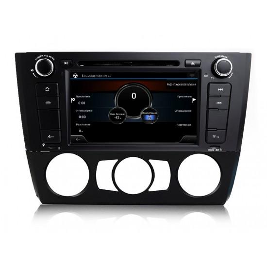 BMW E81 E82 E87 E88 - МУЛТИМЕДИЯ / Навигация Android 11 DVD + DSP + CarPlay