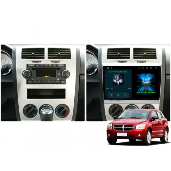 """DODGE Caliber - 10.1"""" МУЛТИМЕДИЯ / Навигация Android 10"""