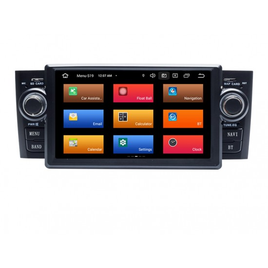 FIAT PUNTO, LINEA - 6.2 МУЛТИМЕДИЯ / Навигация Android 11 + DSP + CarPlay