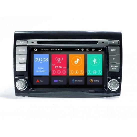 FIAT BRAVO - МУЛТИМЕДИЯ / Навигация Android 11 DVD + DSP + CarPlay