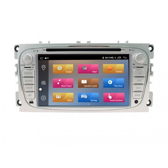 FORD Mondeo, Focus, S-Max, C-Max, Galaxy - МУЛТИМЕДИЯ / Навигация Android 10 DVD светлосива