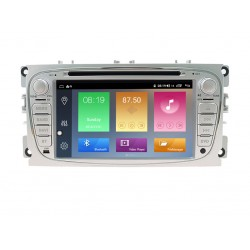 FORD Mondeo, Focus, S-Max, C-Max, Galaxy - МУЛТИМЕДИЯ / Навигация Android 10 DVD светлосива + DSP