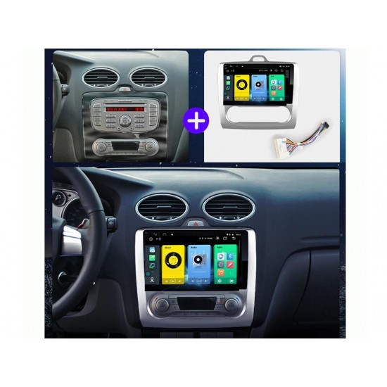 """FORD Focus  - 9"""" МУЛТИМЕДИЯ / Навигация Android 10"""