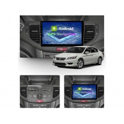 """HONDA Accord - 9"""" МУЛТИМЕДИЯ / Навигация Android 10"""