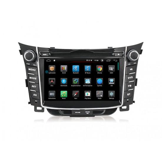 HYUNDAI I30 - МУЛТИМЕДИЯ / Навигация Android 10 DVD