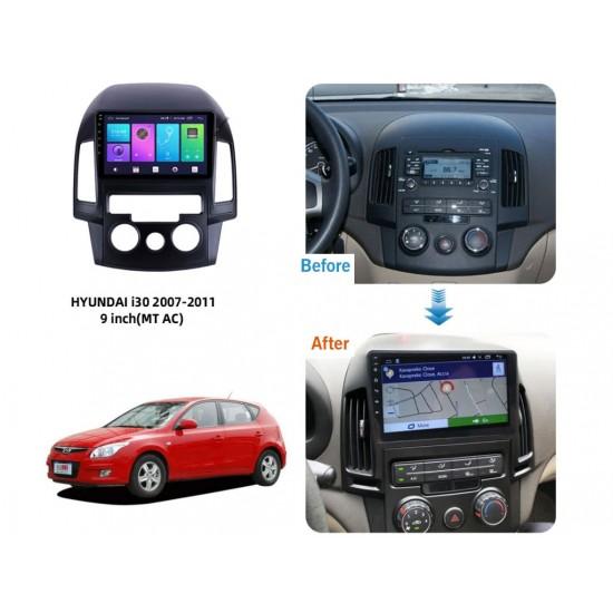 "HYUNDAI I30 - 9"" МУЛТИМЕДИЯ / Навигация Android 10"