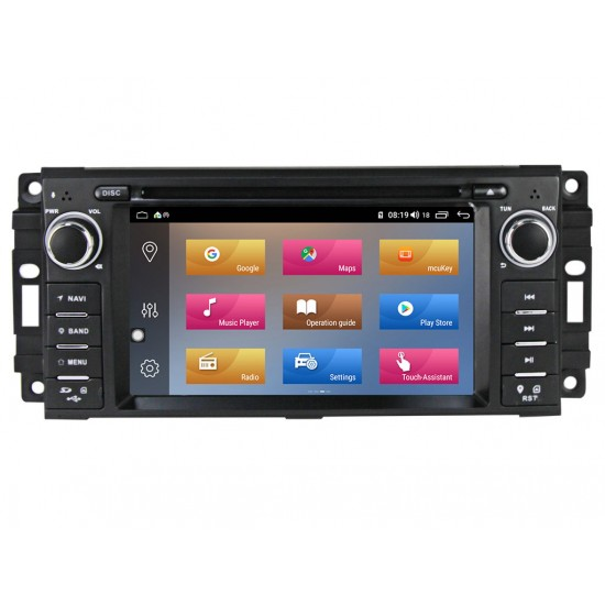 JEEP - МУЛТИМЕДИЯ / Навигация Android 10 DVD + DSP
