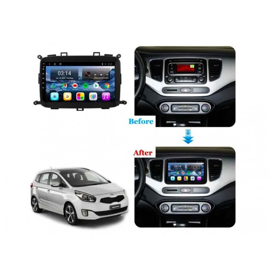 """KIA CARENS - 9"""" МУЛТИМЕДИЯ / Навигация Android 10"""