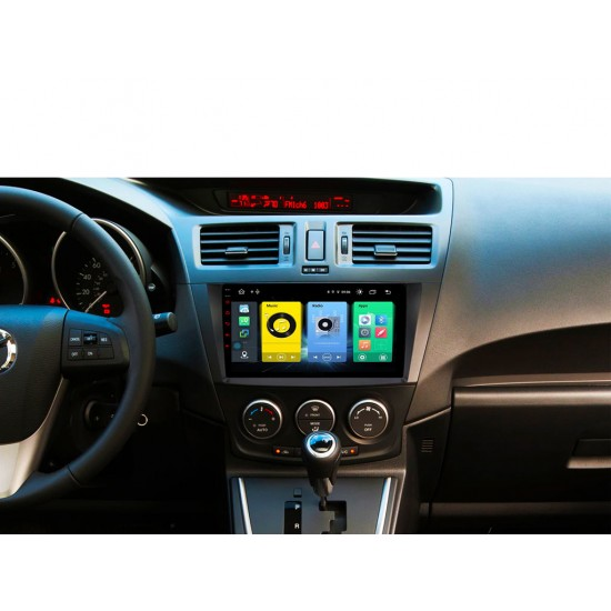 """MAZDA 5 - 9"""" МУЛТИМЕДИЯ / Навигация Android 10"""