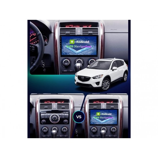"""MAZDA CX-9 - 9"""" МУЛТИМЕДИЯ / Навигация Android 10"""