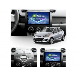 """MAZDA 2 - 9"""" МУЛТИМЕДИЯ / Навигация Android"""