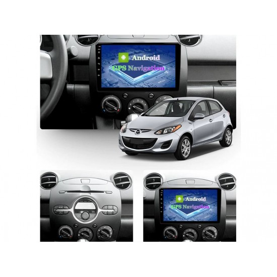 """MAZDA 2 - 9"""" МУЛТИМЕДИЯ / Навигация Android 10"""