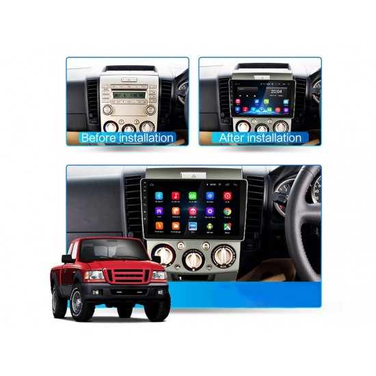 """FORD Ranger, Everest - 9"""" МУЛТИМЕДИЯ / Навигация Android 10"""