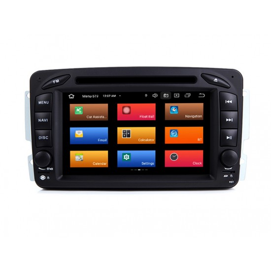 MERCEDES W463, W168, W203, W209, VIANO, VITO, VANEO - МУЛТИМЕДИЯ / Навигация Android 11 DVD + DSP + CARPLAY