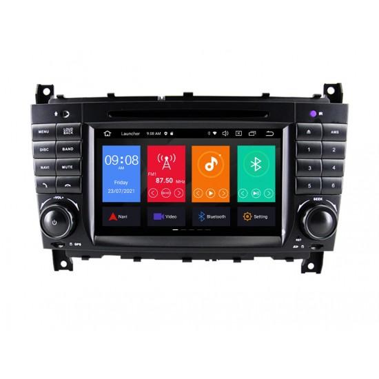 MERCEDES CLC, W203, W209, W463 - МУЛТИМЕДИЯ / Навигация Android 11 DVD + DSP + CarPlay