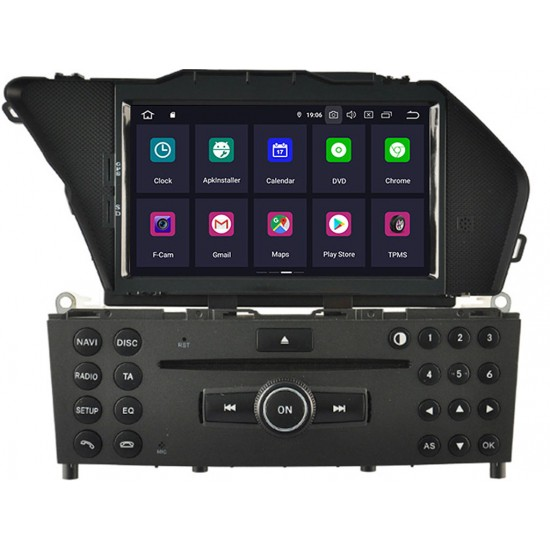 MERCEDES GLK - МУЛТИМЕДИЯ / Навигация Android 11 DVD