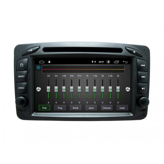 MERCEDES W463, W168, W203, W209, VIANO, VITO, VANEO - МУЛТИМЕДИЯ / Навигация Android 10 DVD + DSP