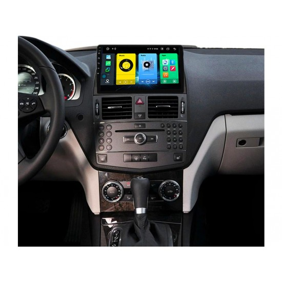 """MERCEDES C-Class W204 - 9"""" МУЛТИМЕДИЯ / Навигация Android 10"""
