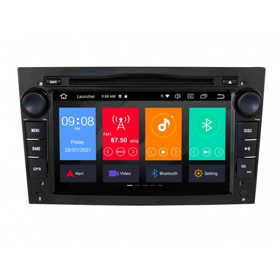 OPEL - МУЛТИМЕДИЯ / Навигация Android 11 DVD черна + DSP + CarPlay