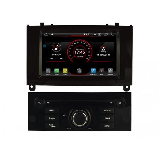 PEUGEOT 407 - МУЛТИМЕДИЯ / Навигация Android 10 DVD черен лак