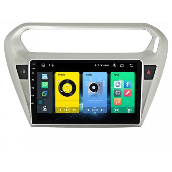 """CITROEN C-ELYSEE - 9"""" МУЛТИМЕДИЯ / Навигация Android 11"""