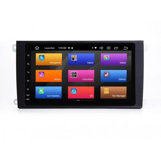 PORSCHE CAYENNE - 8 МУЛТИМЕДИЯ / Навигация Android 11 + DSP + CarPlay