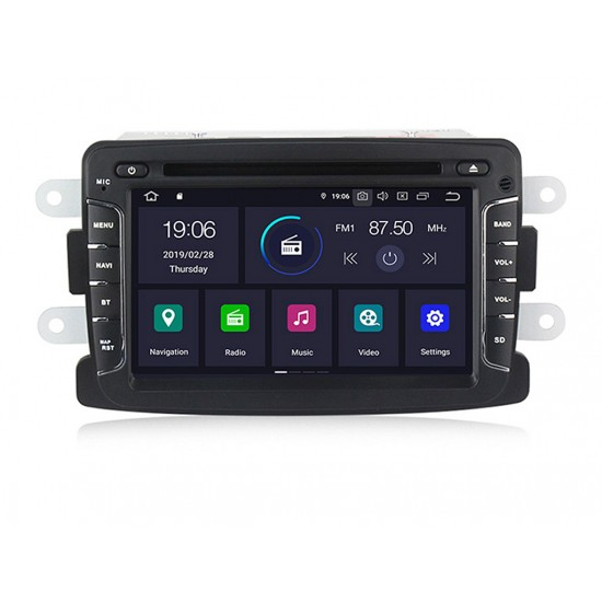 DACIA - МУЛТИМЕДИЯ / Навигация Android 10 DVD