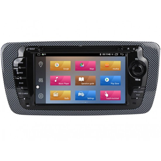 SEAT Ibiza - МУЛТИМЕДИЯ / Навигация Android 10 DVD + DSP