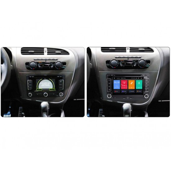 "SEAT Altea, Leon - 7"" МУЛТИМЕДИЯ / Навигация Android 11 DVD + DSP + CARPLAY"