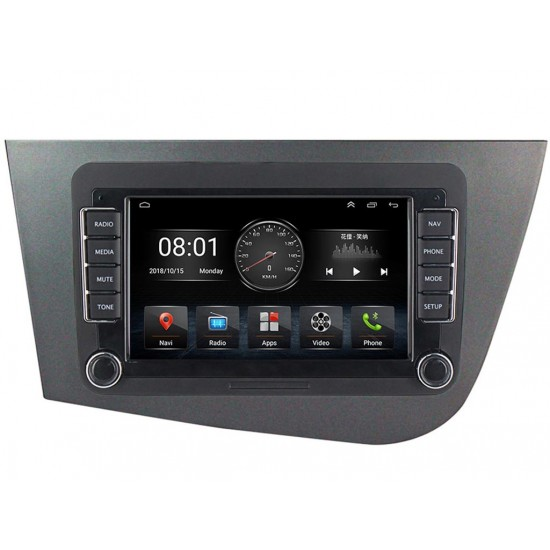 """SEAT Altea, Leon - 7"""" МУЛТИМЕДИЯ / Навигация Android 10"""