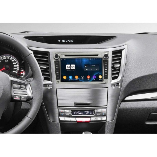 SUBARU Outback, Legacy - МУЛТИМЕДИЯ / Навигация Android 10 DVD + DSP сива