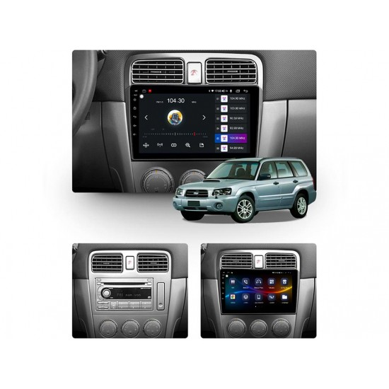 """SUBARU FORESTER - 9"""" МУЛТИМЕДИЯ / Навигация Android 10"""