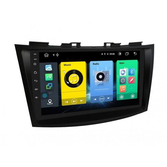 "SUZUKI Swift - 9"" МУЛТИМЕДИЯ / Навигация Android 10"