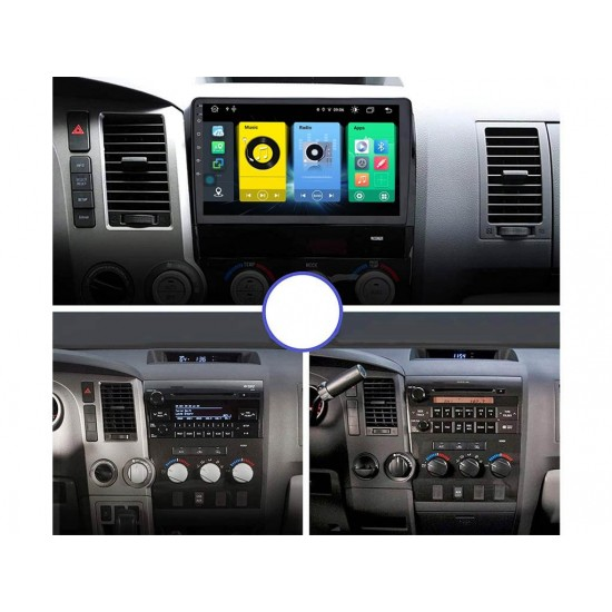 """TOYOTA TUNDRA - 10.1"""" МУЛТИМЕДИЯ / Навигация Android 11"""