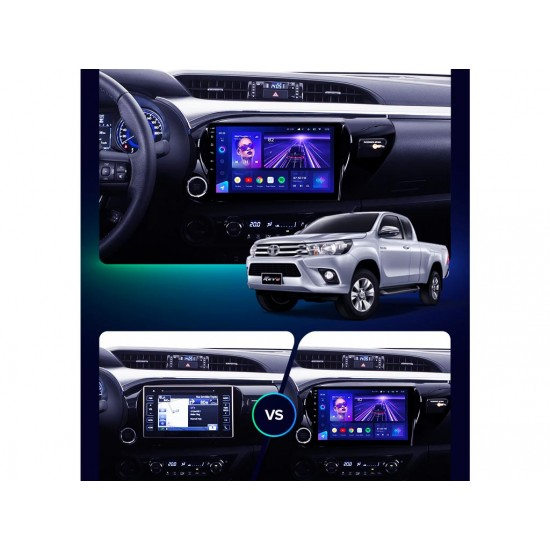 """TOYOTA HILUX - 10.1"""" МУЛТИМЕДИЯ / Навигация Android 10"""