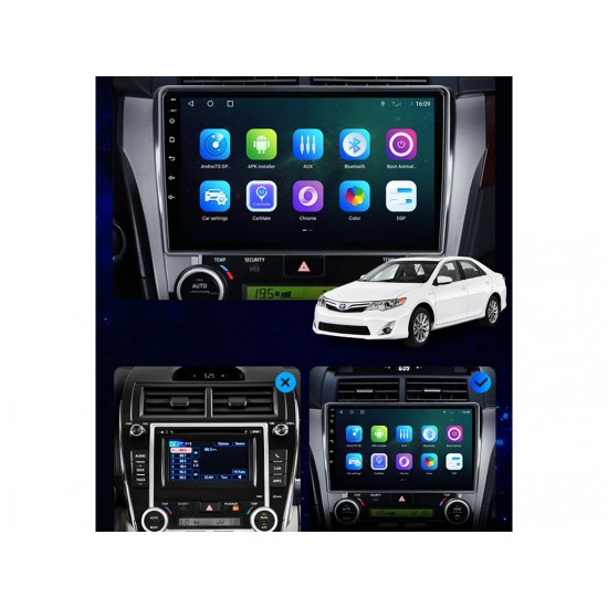 """TOYOTA Camry - 10.1"""" МУЛТИМЕДИЯ / Навигация Android"""