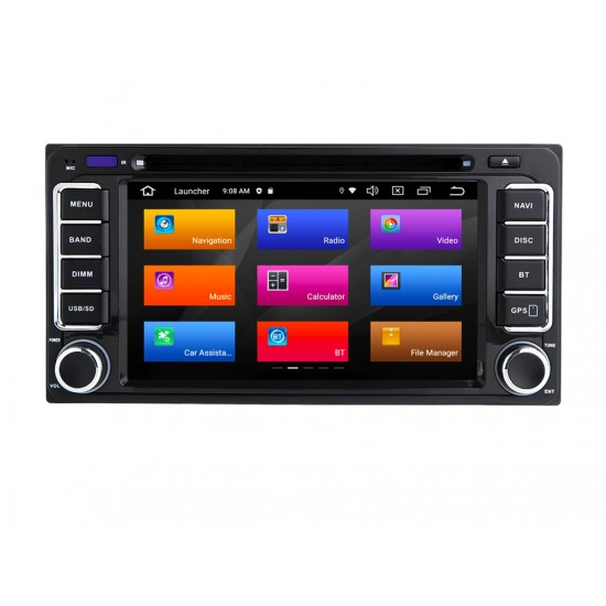 TOYOTA - МУЛТИМЕДИЯ / Навигация Android 11 DVD + DSP + CarPlay