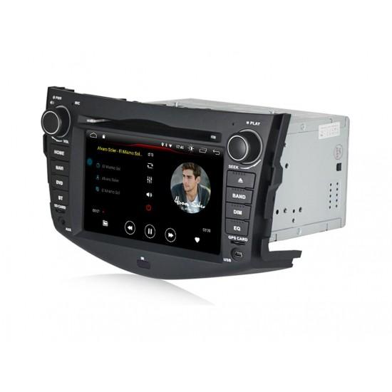TOYOTA RAV4 - МУЛТИМЕДИЯ / Навигация Android 10 DVD