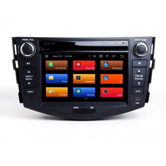 TOYOTA RAV4 - МУЛТИМЕДИЯ / Навигация Android 11 DVD + DSP + CarPlay
