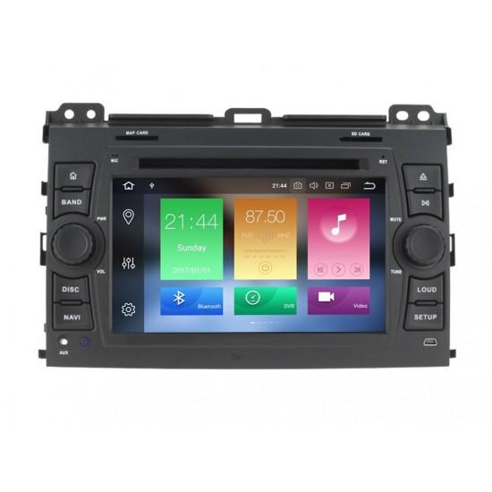 TOYOTA Land Cruiser 120, Prado - МУЛТИМЕДИЯ / Навигация Android 10 DVD + DSP
