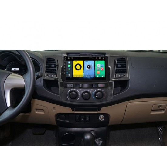 """TOYOTA HILUX - 9"""" МУЛТИМЕДИЯ / Навигация Android 10"""