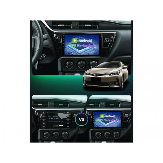 """TOYOTA Corolla, Auris - 9"""" МУЛТИМЕДИЯ / Навигация Android 11"""
