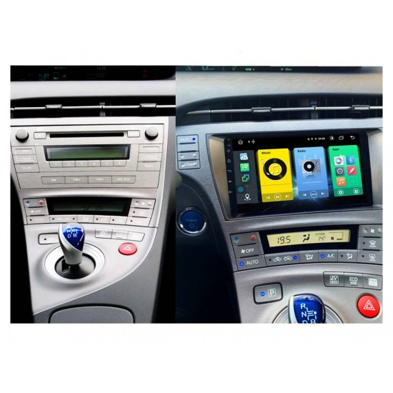 """TOYOTA Prius - 9"""" МУЛТИМЕДИЯ / Навигация Android 10"""